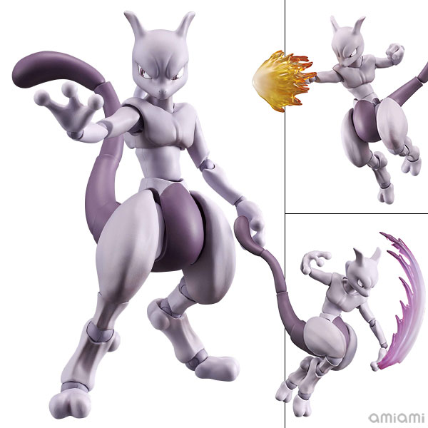 Variable Action Heroes - POKKEN TOURNAMENT: Mewtwo Action Figure(Pre-order)ヴァリアブルアクションヒーローズ ポッ拳 POKKEN TOURNAMENT ミュウツー アクションフィギュアScale Figure