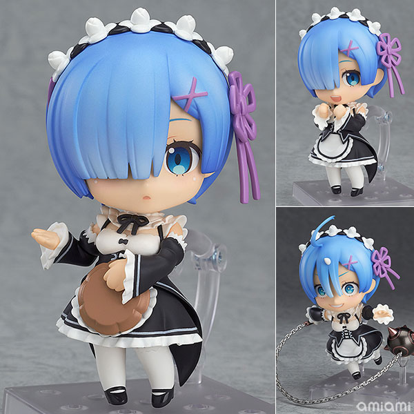 Nendoroid - Re:ZERO -Starting Life in Another World- Rem(Pre-order)ねんどろいど Re:ゼロから始める異世界生活 レムNendoroid