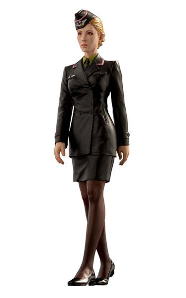 マシーネンクリーガー 1/20 シュトラール軍 女性士官 未塗装組立キット(再販)[ブリックワークス]《取り寄せ※暫定》