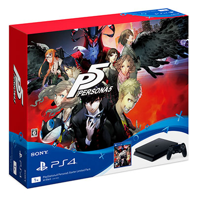 PlayStation4 Persona5 Starter Limited Pack[SIE]【送料無料】《在庫切れ》
