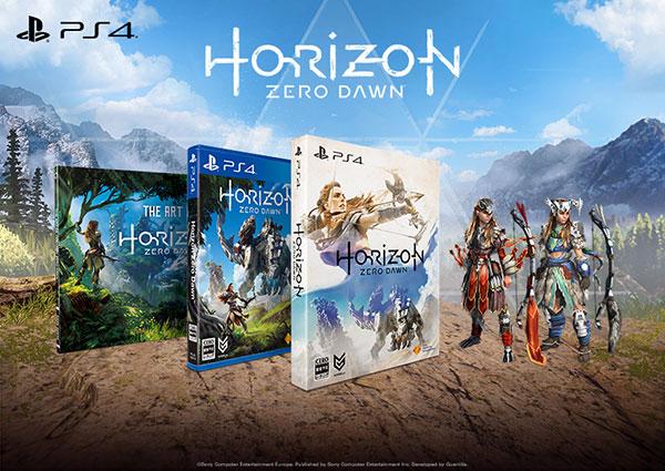 PS4 Horizon Zero Dawn 初回限定版[SIE]《在庫切れ》