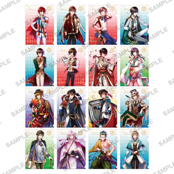 夢王国と眠れる100人の王子様 ぷちクリアファイルコレクション 8個入りBOX[KADOKAWA]【送料無料】《在庫切れ》