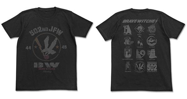 ブレイブウィッチーズ Tシャツ/BLACK-L(再販)[コスパ]《04月予約》