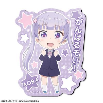 TVアニメ「NEW GAME!」 マグネットシート デザイン01(涼風青葉)(再販)[ライセンスエージェント]《09月予約》