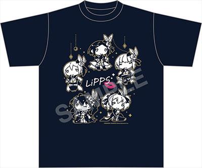 ちまドル アイドルマスター シンデレラガールズ Tシャツ LiPPS(再販)[ファット・カンパニー]《取り寄せ※暫定》