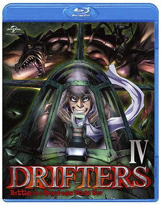 BD DRIFTERS 第4巻 (Blu-ray Disc)[NBC]《取り寄せ※暫定》