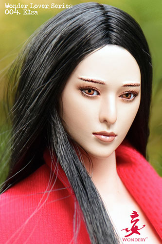 1/6 女性ヘッド ワンダーラーバーシリーズ004 エルサ(再販)[ワンダリー]《在庫切れ》