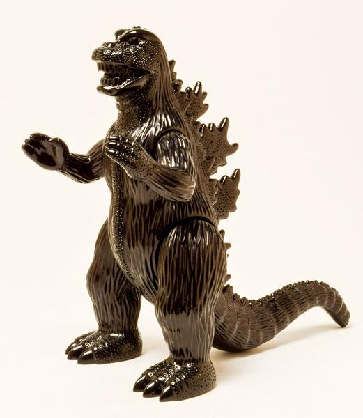 世紀の東宝怪獣 漆黒オブジェコレクション ゴジラ1971(再販)[マルサン]《在庫切れ》