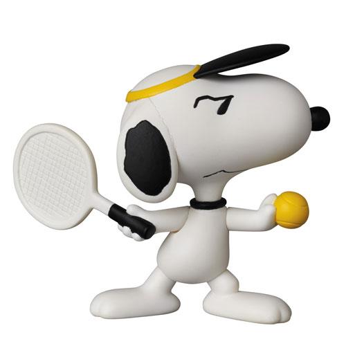 ウルトラディテールフィギュア No.323 UDF ピーナッツ シリーズ5 テニスプレイヤー スヌーピー[メディコム・トイ]《05月予約》