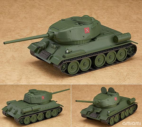 ねんどろいどもあ ガールズ&パンツァー 劇場版 T-34/85[グッドスマイルカンパニー]【送料無料】《在庫切れ》