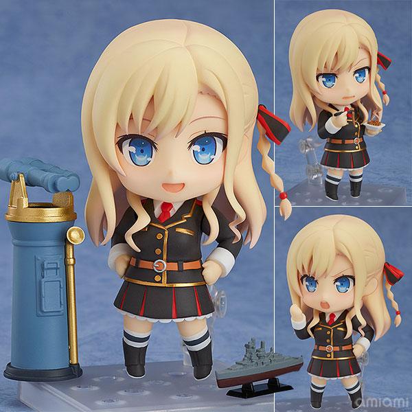 Nendoroid - High School Fleet: Wilhelmina(Pre-order)ねんどろいど ハイスクール・フリート ヴィルヘルミーナNendoroid