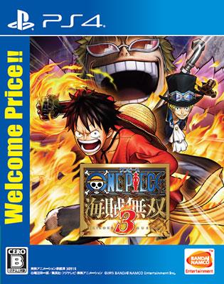 PS4 ワンピース 海賊無双3 Welcome Price!! アニメ・キャラクターグッズ新作情報・予約開始速報