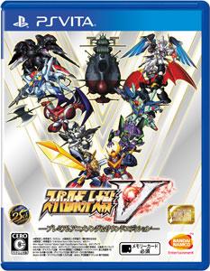 【特典】PS Vita スーパーロボット大戦V -プレミアムアニメソング&サウンドエディション-[バンダイナムコ]【送料無料】《在庫切れ》
