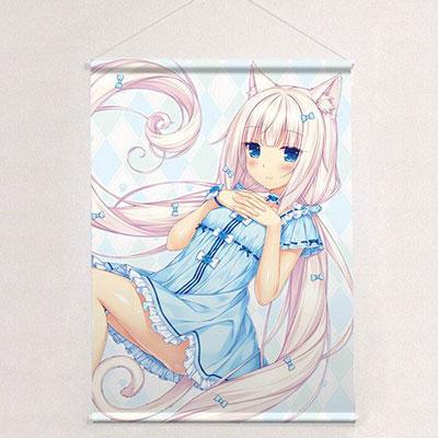 Sayori - New Illustration B2 Wall Scroll: Vanilla / Pajama(Pre-order)さより先生 描き下ろしB2タペストリー バニラ/パジャマAccessory