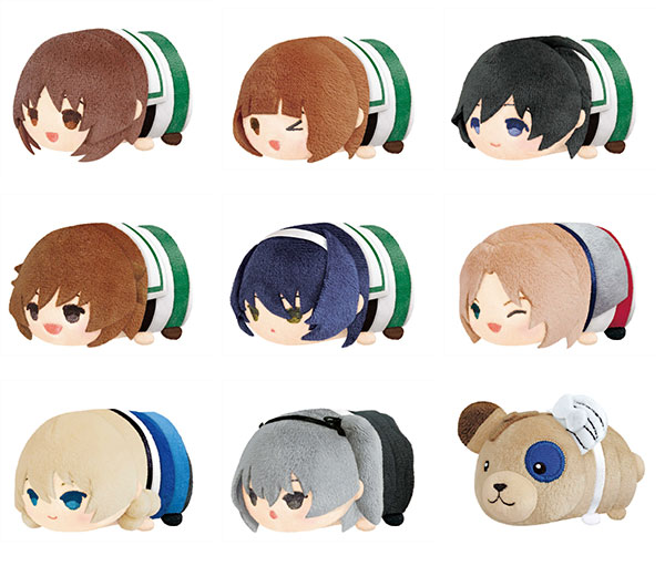 MochiMochi Mascot - Girls und Panzer the Movie vol.1 9Pack BOX(Pre-order)もちもちマスコット ガールズ&パンツァー劇場版 vol.1 9個入りBOXAccessory