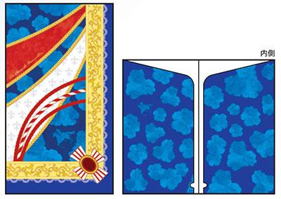 ベルサイユのばら チケットファイルC(ブルー)