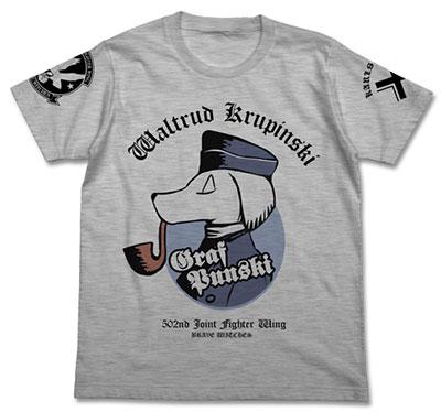 ブレイブウィッチーズ クルピンスキー パーソナルマークTシャツ/ヘザーグレー-M(再販)[コスパ]《在庫切れ》