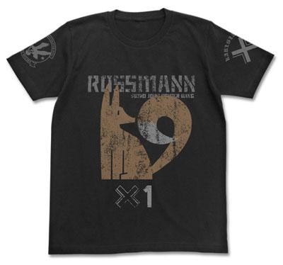 ブレイブウィッチーズ ロスマン パーソナルマークTシャツ/ブラック-XL(再販)[コスパ]《06月予約》