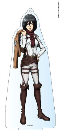 進撃の巨人 Season 2 デカアクリルスタンド ミカサ アニメ・キャラクターグッズ新作情報・予約開始速報