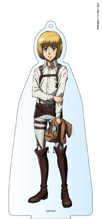進撃の巨人 Season 2 デカアクリルスタンド アルミン アニメ・キャラクターグッズ新作情報・予約開始速報