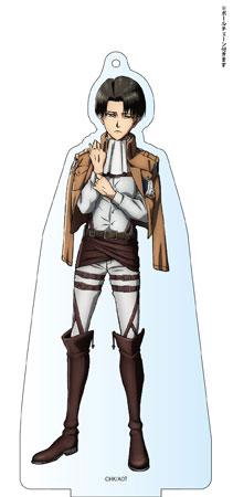 進撃の巨人 Season 2 デカアクリルスタンド リヴァイ アニメ・キャラクターグッズ新作情報・予約開始速報