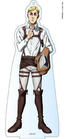 進撃の巨人 Season 2 デカアクリルスタンド エルヴィン アニメ・キャラクターグッズ新作情報・予約開始速報