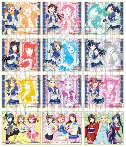 ラブライブ!サンシャイン!! トレーディングミニ色紙Ver.4 12個入りBOX アニメ・キャラクターグッズ新作情報・予約開始速報
