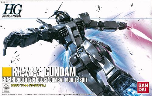 【中古】(本体A-/箱B)HGUC 1/144 G-3ガンダム プラモデル(イベント限定)[バンダイ]《発売済・在庫品》