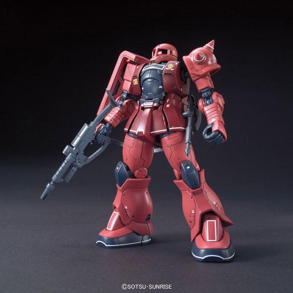 HG 1/144 MS-05S シャア専用ザクI プラモデル 『機動戦士ガンダム THE ORIGIN』より[バンダイ]《取り寄せ※暫定》