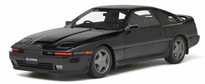 1/18 トヨタ スープラ 2.5 Twin Turbo R (JZA70)(ブラック)[OttO mobile]《在庫切れ》