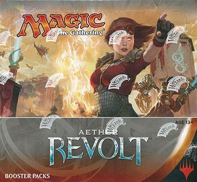 マジック:ザ・ギャザリング 霊気紛争 ブースター 英語版 36パック入りBOX[Wizards of the Coast]【送料無料】《在庫切れ》