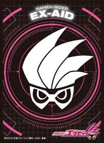 キャラクタースリーブ 仮面ライダーエグゼイド 仮面ライダーエグゼイド エンブレム(EN-424) パック[エンスカイ]《在庫切れ》
