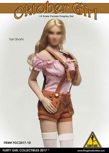 1/6 女性用 コスプレセット オクトーバーガール タンショーツ(ドール用衣装)[FLIRTY GIRL]《在庫切れ》