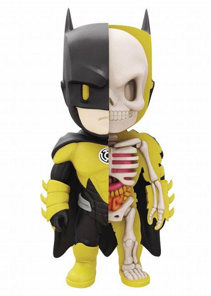 XXRAY meets DCコミックス/ イエローランタン バットマン 4インチ ビニールフィギュア[マイティージャックス]《06月仮予約》