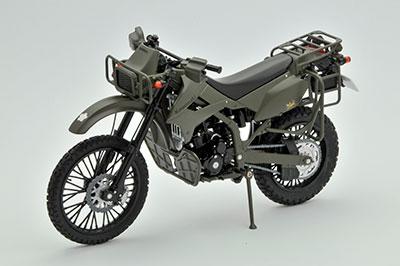 リトルアーモリー 〈LM001〉 1/12 陸自偵察オートバイ KLX250[トミーテック]《在庫切れ》