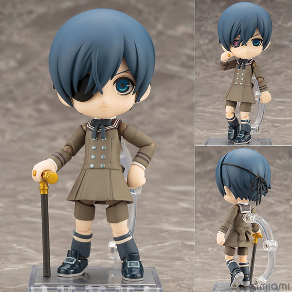 Cu-poche - Black Butler: Book of the Atlantic: Ciel Phantomhive Posable Figure(Pre-order)キューポッシュ 黒執事 Book of the Atlantic シエル・ファントムハイヴ 可動フィギュアNendoroid