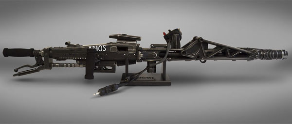 『エイリアン2』 HCG プロップ・レプリカ 1/1スケール M56スマートガン[Hollywood Collectibles Group]【同梱不可】【送料無料】《07月予約》