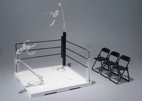 魂STAGE ACT. リングコーナー(ニュートラルコーナー)&パイプ椅子セット[バンダイ]《07月予約》