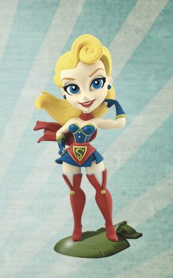 『DCコミックス』DC ビニールフィギュア「ボムシェルズ」 スーパーガール[クリプトゾイック]《08月仮予約》