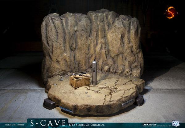 1/12 オリジナルシリーズ ジオラマ 洞窟[IHNSトイズ]《06月仮予約》