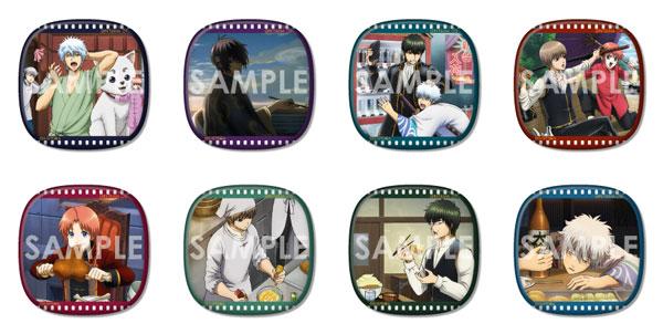 銀魂 くつろぎコレクション缶バッジ 8個入りBOX[ソル・インターナショナル]《発売済・在庫品》