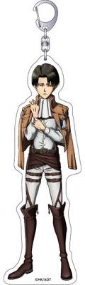 進撃の巨人 全身アクリルキーホルダー (D)リヴァイ[ムービック]《在庫切れ》