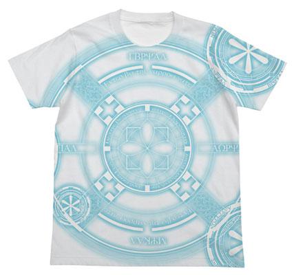ブレイブウィッチーズ ウィッチの魔法陣Tシャツ西洋Ver./ホワイト-M(再販)[コスパ]《02月予約》