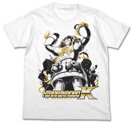 アイドルマスターシンデレラガールズ(原作) きらりんロボTシャツ/ホワイト-M(再販)[コスパ]《07月予約》