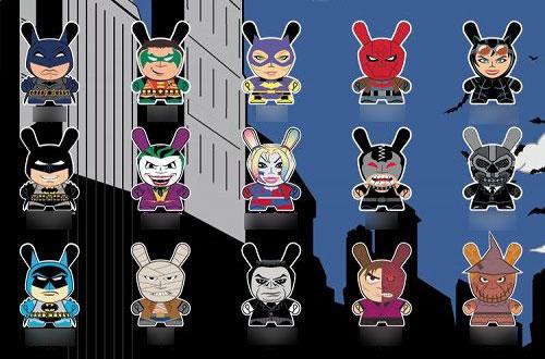 ダニー/ DCコミックス バットマン 3インチ ミニ フィギュア: 24個入りBOX[キッドロボット]【送料無料】《在庫切れ》