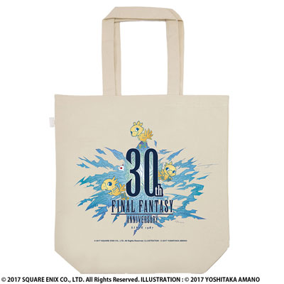 FINAL FANTASY 30th TOTE BAG[スクウェア・エニックス]《取り寄せ※暫定》