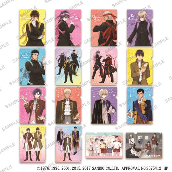 サンリオ男子 ぷちクリアファイルコレクション Vol.2 8個入りBOX[KADOKAWA]《取り寄せ※暫定》