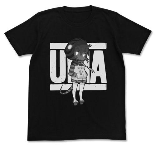 けものフレンズ ツチノコ Tシャツ/ブラック-L(再販)[コスパ]《01月予約》