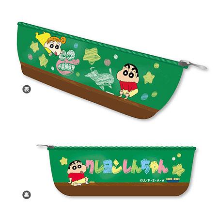 ボートペンポーチ クレヨンしんちゃん/黒板A[ベルハウス]《05月予約》