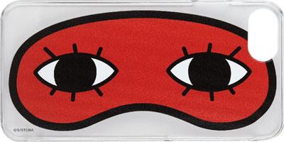 銀魂 iPhone7対応 キャラクタージャケット アイマスク(GI-16A)[グルマンディーズ]《在庫切れ》